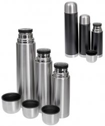 REWE: GRÄWE Isolierflaschen-Set THERMOHOME 3er-Set in silber oder schwarz für nur 18,89 Euro statt 26,89 Euro bei Ideao