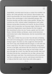 Tahlia und Bol: Tolino Page 2 6 Zoll eReader mit integriertem Leselicht für nur 59 Euro statt 78,87 Euro bei Idealo