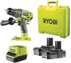 Toom: Ryobi R18PD7-220B 18 V Akku-Schlagbohrschrauber mit 2x Akku und Schnellladegerät für nur 159,99 Euro statt 206,80 Euro bei Idealo