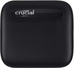 Amazon: Crucial CT1000X6SSD9 X6 1TB Portable SSD für nur 83,99 Euro statt 130,64 Euro bei Idealo