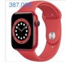 @ebay:  WOW  Apple Watch Series 6 44mm GPS mit Sportarmband rot 386,91 € inc. Versand