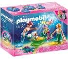 PLAYMOBIL 70100 Magic Familie mit Muschelkinderwagen, bunt für 8€(PRIME) statt PVG Idealo 15,63€ @amazon