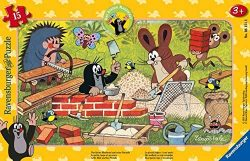 Ravensburger Kinderpuzzle 06151 – Der kleine Maulwurf und seine Freunde – Rahmenpuzzle für 2,99€ statt PVG Idealo 5,99€ @amazon
