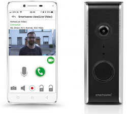 Smartwares WLAN-Videotürklingel DIC-23112 für 45,90 € (157,12 € Idealo) @iBOOD
