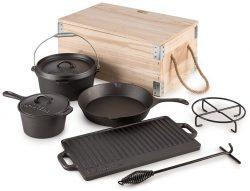 Wayfair: Klarstein Hotrod Masterplan Dutch Oven Komplett Set 7-teilig für nur 83,30 Euro statt 139,99 Euro bei Idealo