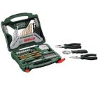 Bosch X-Line Werkzeug Zubehörbox 70-teilig + Zangen für 35,90 € (46,80 € Idealo) @iBOOD