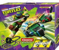 Carrera GO!!! – 62324 Teenage Mutant Ninja Turtles X-Loop Rennbahn  für 49,99€statt PVG Idealo 85,76€@amazon und ebay