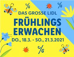 LIDL: Frühlingserwachen mit täglich neuen Top-Angeboten + Gutschein für kostenlosen Versand auf alles