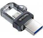 SanDisk Ultra Dual USB-Laufwerk m3.0 Smartphone Speicher 128 GB für 9,90€ (PRIME) statt PVG Idealo 12,89€ @amazon