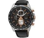 Seiko Chronograph Herren-Uhr Edelstahl mit Metallband für 126,59€ statt PVG Idealo 180,03€ @amazon