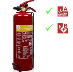 Smartwares SB2 Feuerlöscher, Brandklassen A und B für 21,49 € (35,48 € Idealo) @Amazon