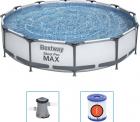 Smyths Toys: Bestway Steel Pro MAX Swimming Pool Set 366x76cm mit Filterpumpe für nur 119,99 Euro statt 193,99 Euro bei Idealo
