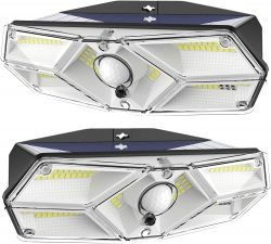 Amazon: 2 Stück CALIONLTD Außen Solarleuchten mit Bewegungsmelder mit Gutschein für nur 17,38 Euro statt 28,99 Euro