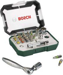 Bosch Schrauberbit- und Ratschen-Set 26-tlg. für 13,48 € (18,47 € Idealo) @Amazon