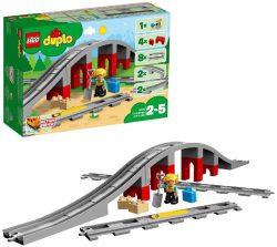 LEGO 10872 DUPLO Eisenbahnbrücke und Schienen  für 14,78€ statt PVG laut Idealo 22,96 € @amazon