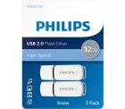 Notebooksbilliger: 2 Stüch Philips Snow Edition 32GB USB-Stick Typ-A 2.0 für nur 11,98 Euro statt 16,20 Euro bei Idealo