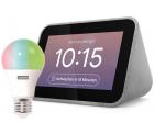 Notebooksbilliger: Lenovo Smart Clock mit Google Assistant Inkl. Lenovo Smart Bulb für nur 45,99 Euro statt 91,90 Euro bei Idealo