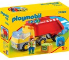 PLAYMOBIL 70126 1.2.3 Kipplaster, ab 18 Monaten, bunt, one Size für 7,51€ (PRIME) statt PVG  laut Idealo 14,38€ @amazon