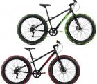 REWE: KS Cycling Mountainbike MTB Fatbike 26 Zoll SNW2458 schwarz oder grün für nur 229,99 Euro statt 327,71 Euro bei Idealo