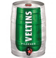 Amazon: 5 Liter Partyfass VELTINS Pilsener, Pfandfrei für nur 7,19 Euro statt 11,99 Euro bei Idealo