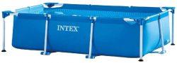 Intex Rectangular Frame Aufstellpool – 260 x 160 x 65 cm  für 69,99€ statt PVG  laut Idealo 93,99€ @amazon