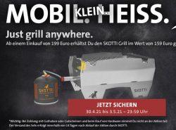 @Kreutzers: Gratis Skotti Gasgrill (Idealo Wert: 159€) bei Besellwert 199€