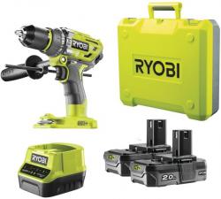 Toom: Ryobi R18PD7-220B 18 V Akku-Schlagbohrschrauber mit 2x Akku und Schnellladegerät für nur 159,99 Euro statt 216,89 Euro bei Idealo
