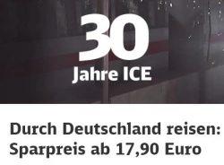 Durch Deutschland reisen: Mit dem Super Sparpreis ab 17,90 Euro @bahn.de
