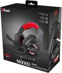 Trust Gaming Headset für PC mit LED-Beleuchtung GXT 448 Nixxo für 12,33€ (PRIME) statt PVG laut Idealo 37,77€ @amazon