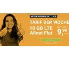 @winsim: 10GB LTE Allnet Flat Tarif 9,99€ / Monat und monatl. kündbar (alt: 14,99€)