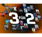 3 Für 2 Multibuy Gaming Aktion auf ausgewählte Games für PS5, Xbox, PS4 und PC @Saturn