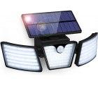 Amazon: GolWof 265 LED Solarlampe für Außen mit Bewegungsmelder mit Gutschein für nur 8,79 Euro statt 21,99 Euro