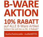 Computerunivere: 10% Extrarabatt auf alle B-Waren im Outlet mit Gutschein ohne MBW