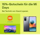 Ebay: 15% Rabatt auf Technik von Xiaomi mit Gutschein ohne MBW