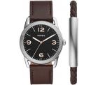 Fossil BQ2465 Set Ledger Herrenuhr + Armband für 79,20 € (132,99 € Idealo) @Fossil