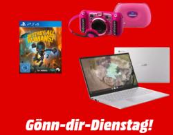 Gönn-dir-Dienstag @Media-Markt u.a. mit TRUST GXT 323 Carus Gaming Headset für 25 € (37,07 € Idealo)