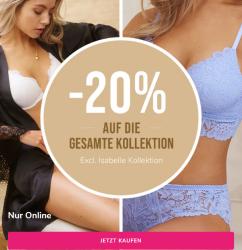 Hunkemöller: Bis zu 70% Rabatt im Big Sexy Sale + 20% Extrarabatt auf die gesamte Kollektion