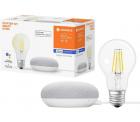 LEDVANCE Starter Kit Smart Home mit Google Home Mini + Filament Leuchtmittel für 19,99 € (40,40 € Idealo) @eBay