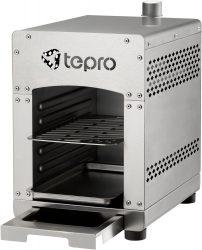 Mediamarkt und Saturn: TEPRO 3185 Toronto Basic Edelstahl Gasgrill mit Keramik-Infrarotbrenner für nur 79 Euro statt 104,99 Euro bei Idealo