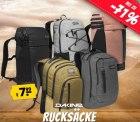 Sportspar: Dakine Rucksack und Taschen Sale z.B. mit Dakine 365 Pack 30 L Rucksack für nur 26,94 Euro statt 50,82 Euro bei Idealo