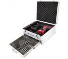 Toolcraft ASS-KA118 TAWB-200 Akku-Schlagbohrschrauber inkl. 2. Akku + 89tlg. Zubehörset im Alu-Koffer für 125,30 € (177,99 € Idealo) @eBay