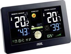Voelkner: ADE WS 1704 Funk-Wetterstation mit animierter Wettervorhersage für nur 28,99 Euro statt 46,35 Euro bei Idealo