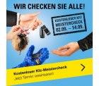 0€ Aktion: Gratis Fahrzeug-Check bei Vergölst