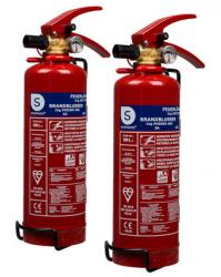 2x Smartwares BB1 Feuerlöscher Pulver 1 kg für 27,90 € (38,93 € Idealo) @iBOOD