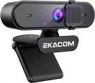 Amazon: EKACOM 1080P HD Webcam mit Mikrofon mit Gutschein für nur 13,49 Euro statt 36,99 Euro