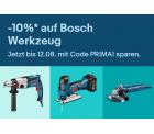 Ebay: 10% Rabatt auf ausgewähltes Bosch Werkzeug mit Gutschein ohne MBW