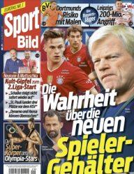 Kioskpresse: 3 Monate Sport Bild mit 12 Ausgaben für 0 Euro !!!