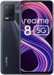 Realme 8 5G Smartphone mit 6,5 Zoll, 4+64GB, Android 10.0, Dual-SIM, NFC, 48 MP Kamera für 159 € (203,89 € Idealo) @Amazon