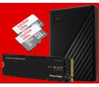Speicherwoche @Media-Markt & Saturn z.B. Doppelpack SANDISK Ultra Micro-SDHC 32 GB Speicherkarte für 9 € (14,98 € Idealo)