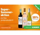 Weinvorteil: 25% Extrarabatt auf bereits reduzierte Weine + gratis Versand mit Gutschein ohne MBW